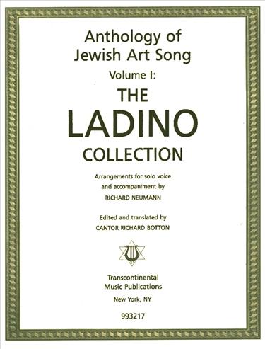Ladino anthology of jewish art song volume i stopboris Images