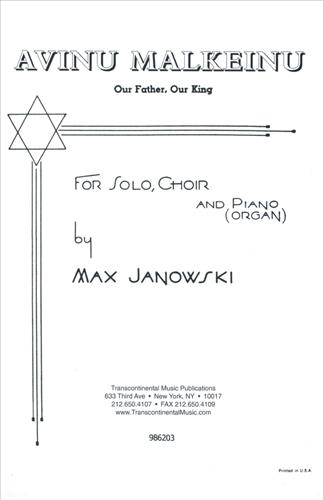 Avinu Malkeinu (SATB Choir)