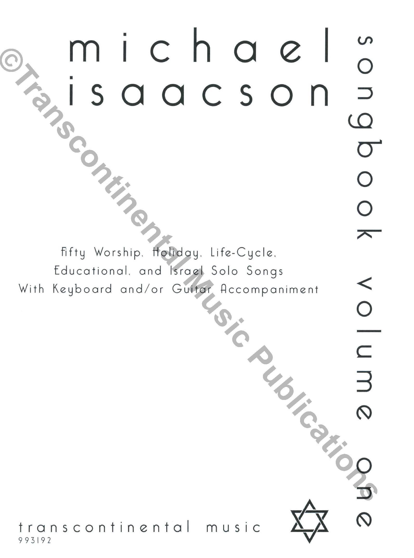 Michael Isaacson Songbook Volume I